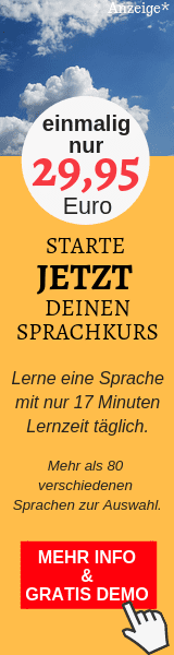 Sprachkurs Banner Widget Deutsch